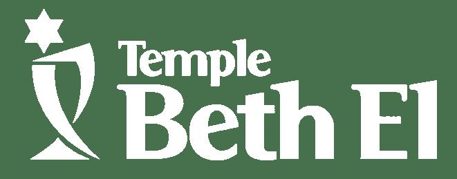 Temple Beth El White Logo