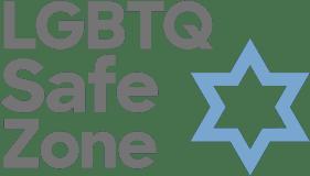 LGBTQ Safe Zone Keshet Grey Logo