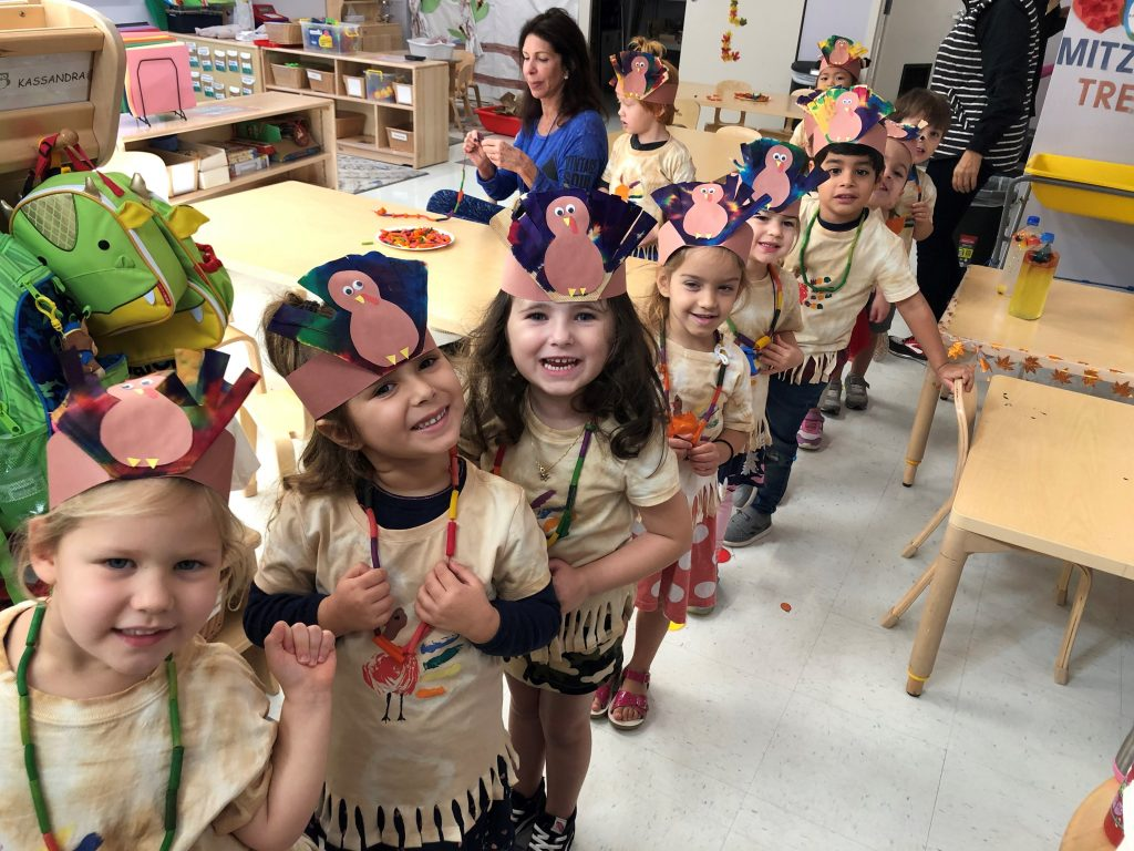 Early Learning Center kids prepare for Thanksgiving