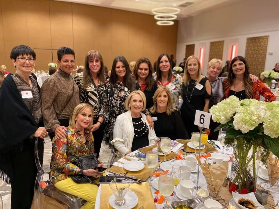 Members of Temple Beth El's Sisterhood at the Sisterhood Luncheon