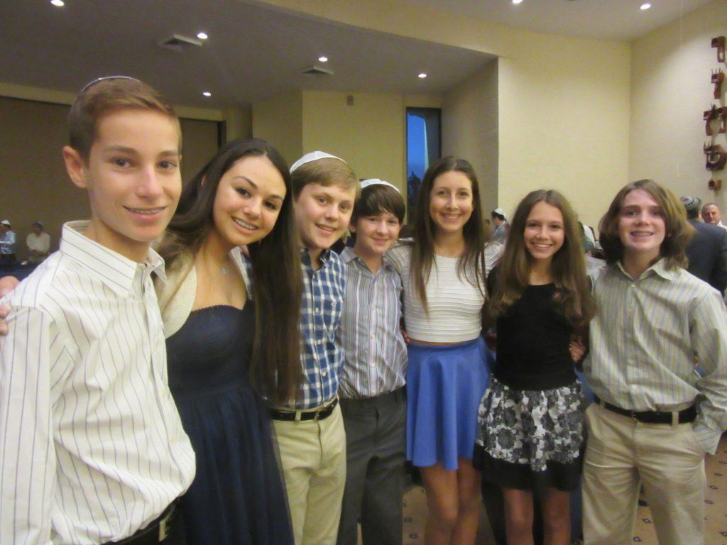 Temple Beth El Religious School children at the Schaefer Family Campus
