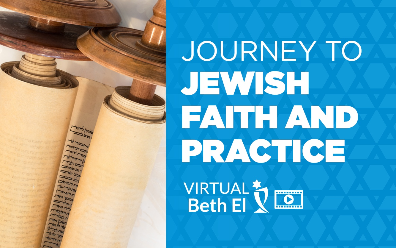 Journey to Jewish Faith and Practice event graphic