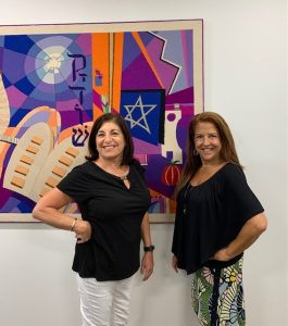 Elinor Josephson and Julie Guzy, Engagement and Programming Department