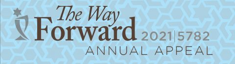 The Way Forward, Annual Appeal Campaign 2021 for Temple Beth El of Boca Raton event graphic